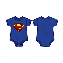 Picture of Superman Logo Onesie