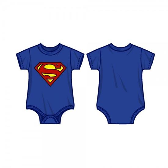 Picture of Superman Logo Onesie