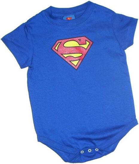 Picture of Superman Symbol Onesie