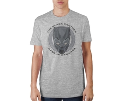 Picture of Black Panther Made in Wakanda Men's Tee