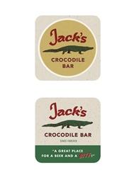 Picture of American Gods Jack's Crododile Bar Coaster Set