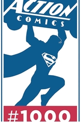 Picture of Action Comics #1000 Jurgens Signed Haeser Remarked