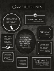 Picture of Game of Thrones Quotes Magnet Set