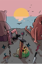 Picture of Adventure Time Beginning of the End #3 Daguna Cover