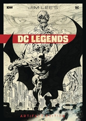 Picture of Jim Lee DC Legends Artifact Edition HC