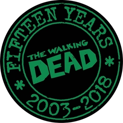 Picture of Walking Dead 15th Anniversary Pin