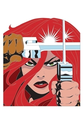 Picture of Red Sonja Simonson Pin