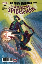 Picture of Amazing Spider-Man #798 Symbiote Cover Grawbadger Signed