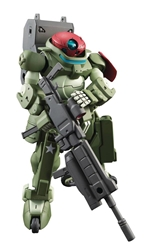 Picture of Gundam Build Divers Grimoire Red Beret HGBD 1/144 Scale Model Kit