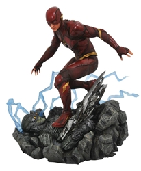 Picture of Flash Justice League Movie Gallery PVC Figure