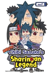 Picture of Naruto Chibi Sasuke's Sharingan Legend Vol 03 SC