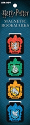 Picture of Harry Potter House Crest Magnetic Bookmark Set