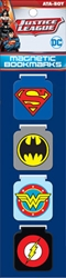Picture of DC Logos Magnetic Bookmark Set