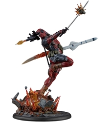 Picture of Marvel Deadpool Heat Seeker Premium Format Statue