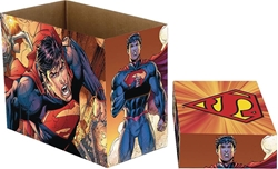 Picture of Superman Flying Short Comic Box
