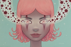 Picture of Tara McPherson Magnetic Trance Print