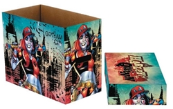 Picture of DC Comics Harley Quinn Gotham Short Comic Storage Box