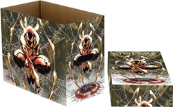 Picture of Marvel Spider-Man Web Short Comic Storage Box