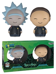 Picture of Dorbz Police Rick and Morty Two Pack Vinyl Figure Set