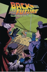Picture of Black to the Future Tales from the Time Train TP