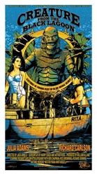 Picture of Flynn Prejean Creature From the Black Lagoon Print