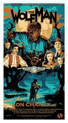 Picture of Flynn Prejean The Wolfman Print