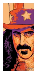 Picture of Flynn Prejean Frank Zappa The Jester Print