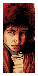 Picture of Flynn Prejean Bob Dylan The Poet Print