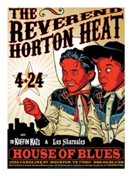 Picture of Flynn Prejean Reverend Horton Heat Print