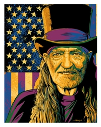 Picture of Flynn Prejean Willie Nelson The Alchemist Print