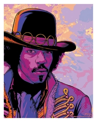 Picture of Flynn Prejean Jimi Hendrix The Warlock Print