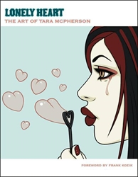 Picture of Lonely Heart Art of Tara McPherson HC (Signed Copy)