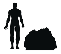 Picture of Black Panther Marvel Select Action Figure