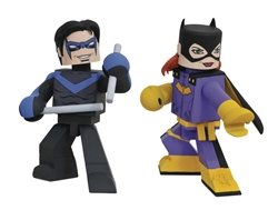 Picture of Batman Batgirl & Nightwing Comic Vinimate 2-Pack FCBD