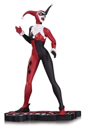 Picture of Harley Quinn Red, White and Black Lee Statue