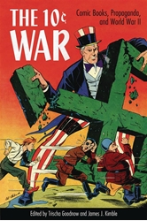Picture of 10 Cent War Comic Books Propaganda & World War II SC
