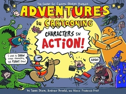 Picture of Adventures in Cartooning Characters in Action SC