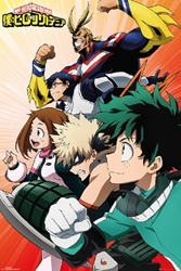 "Picture of My Hero Academia Heroes 24"" x 36"" Poster"