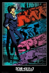 """Picture of Cowboy Bebop Spike 24"""" x 36"""" Poster"""