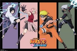 "Picture of Naruto Team 7 36"" x 24"" Poster"