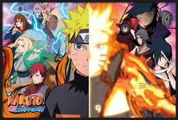 "Picture of Naruto Split 36"" x 24"" Poster"
