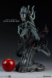 Picture of Alien Warrior Statue