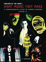 Picture of What Music They Make HC Comprehensive Guide to Horror Poster