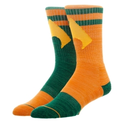 Picture of Aquaman Flipped Colors Crew Socks