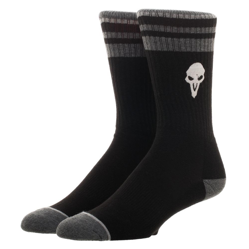 4c682902b282e Bedrock City Comic Company. Overwatch Reaper Embroidered Crew Socks