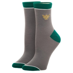Picture of Zelda Embroidered Junior Anklet Socks