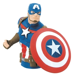 Picture of Avengers Captain America Bust Bank