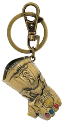 Picture of Thanos Infinity Gauntlet Colored Pewter Keychain