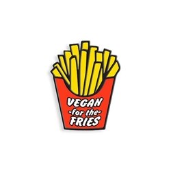 Picture of French Fries Vegan for the Fries Pin