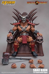Picture of Mortal Kombat Shao Khan Storm Collectibles Figure